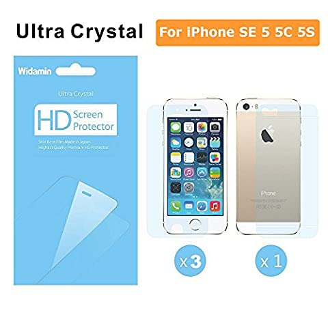 iphone 5/5c Crystal clear Film screen protector 0.12mm thiness[Windami] LCD Screen protector Guard Cover Film for Iphone/5s/5 [3