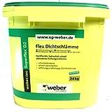 weber.tec Superflex D 2 Dichtschlämme, 24 kg