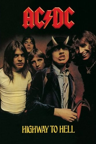 AC/DC - Poster Highway To Hell