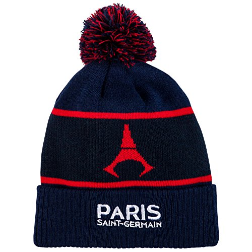 98336273df1 Gants + bonnet pompon PSG – Collection officielle Paris Saint Germain ...