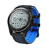 JiaMeng Smartwatches - Pedometro impermeabile NO1 F3 IP68 con monitoraggio del sonno Sport BT...