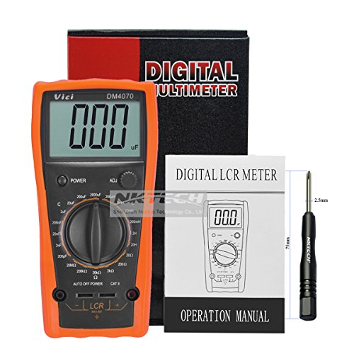 nktech Vici dm4070Multimeter digitales LCR-Messgerät 31/220H 2000uf 20mΩ Selbstentladung Widerstand Kapazität Induktivität Tester mit tl-1Schraubendreher