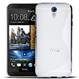 HTC Desire 620 Silikon Hülle Case in Transparent Cover