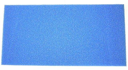 Filtermatte Filterschwamm 100 x 50 x 10 cm Grob PPI 10 Teich Filter Aquarium Koi Filterung