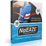 NipEaze - 4pack Value - The Original Transparent Nip Protector - Nipple Chafing Prevention - Ultra-Marathon Running Gear