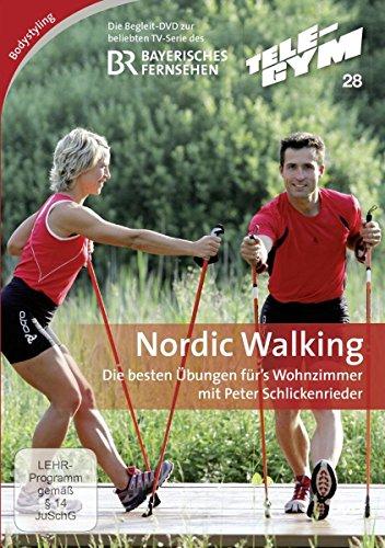 TELE-GYM 28 Nordic Walking - Die besten Übungen fürs Wohnzimmer