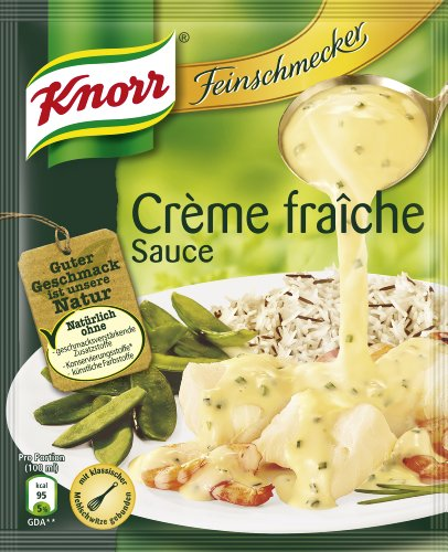 Knorr Feinschmecker Crème fraîche Sauce, 7er Pack (7 x 250 ml)