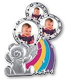 Zep Kinder-Bilderrahmen Alice Fr 3 Fotos (6 X 7,5 Cm, 4 X 4 Cm Und 5 X 5 Cm)