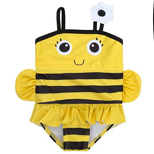 Babys/Kleinkinder Neuheit Tier Schwimmen Kostüm - 3 Monate bis 6 Jahre (12-18 Monate, Biene) (Tier Kostüm Baby)
