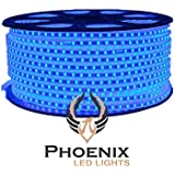 High Quality Waterproof LED Rope Light With Adapter For Decoration - 10 - Meters - Blue Color (Phoenix Light)