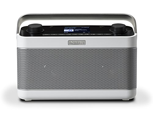 Roberts Radio STREAM 218 weiß Internet-Radio mit DAB+ Bluetooth Spotify WLAN Digital-Radio