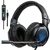 Holen Sie sich ein tolles Audio-Erlebnis mit Sades Neue Version R5 Gaming Headset Speziell für PS4, Neue Version Xbox One, PC, Notebook, Laptop, Tablet. Einfache Einrichtung und liefert hochwertige.     Technische Spezifikation:   1.Loudhailer Durch...