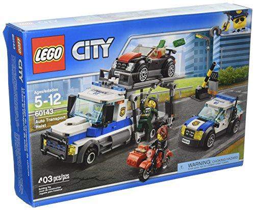 Lego City 60143 Überfall auf den Autotransporter - Autotransporter Auf Überfall Lego