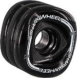 Shark Wheel Longboard Wheels - 70mm/80a - Black - Mako Formula by Shark Wheel