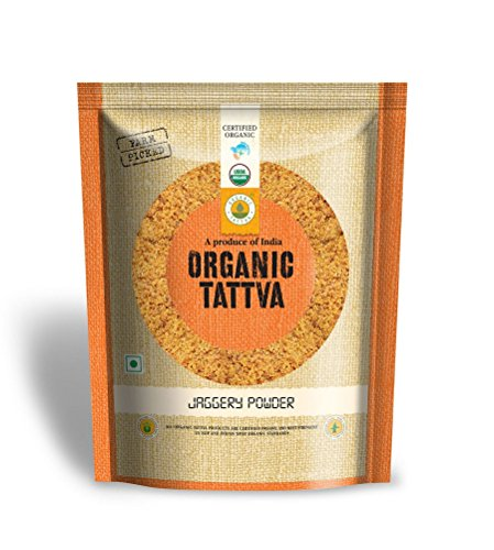 Organic Tattva Jaggery Powder, 500g