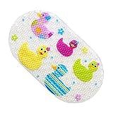 Egomarket Badteppich Rutschfest Für Babys Multicolore-Marine (Colorful Duck)