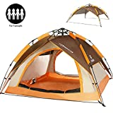 Best Instant Tents - ZOMAKE 2 3 4 Person Family Camping Tent Review