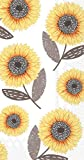 Ideal Home Range BF737645 16 Count Urban Sunflower 3-Ply Paper Guest Towels, Multicolor