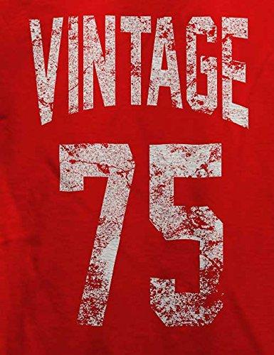 Vintage 1975 T-Shirt Rot