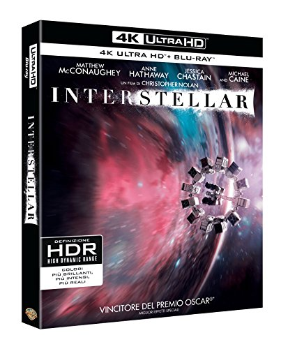 Interstellar (4K ULTRA HD + Blu Ray)