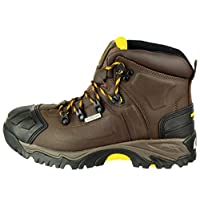 Amblers Mens Fs39 Safety Work Boots Crazy Horse Size 9