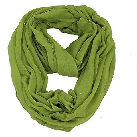 Da donna, stampa: Infinity Loop cappuccio Casual da donna Circle-Sciarpa