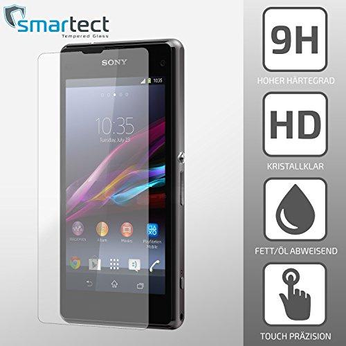 smartect® Sony Xperia Z1 COMPACT / MINI Panzerglas Display-Schutzfolie aus...