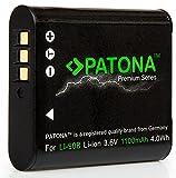 Bundlestar Patona Premium Akku für Olympus LI-90B Li-92B (echte 1100mAh)  Intelligentes Akkusystem -  kompatibel