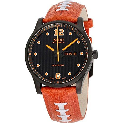 Mido Multifort Herren-Armbanduhr 42mm Armband Leder Automatik M0054303605080