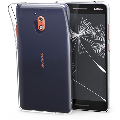 kwmobile Nokia 2.1 (2018) Hülle - Handyhülle für Nokia 2.1 (2018) - Handy Case in Transparent