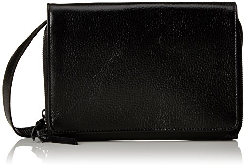 Royal RepubliQ Unisex-Erwachsene New Courier Kuriertasche, 8,5x28x39,5 cm Schwarz (Black)