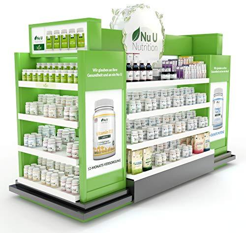 Vitamine & Mineralien – Männer & Frauen – 24 Multivitamine & Mineralstoffe in einer Tablette – Versorgung für bis zu 1 Jahr – für Vegetarier geeignet 365 Tabletten Nahrungsergänzungsm - 6