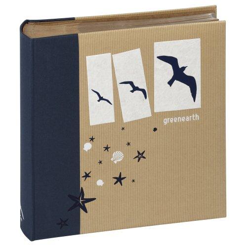 Preisvergleich Produktbild Panodia Elysée Fotoalbum, zum Einkleben, Greenearth Reise, blau, 200 photos 13x19