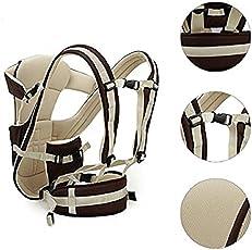 Teeny Weeny Pocket Strong Belt Durable Baby Carrier Baby Carrier Baby Carrier(Brown, Black, Back Carry)