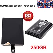 Caja Only- para disco duro interno de disco duro HDD para Microsoft Xbox 360 Slim UK