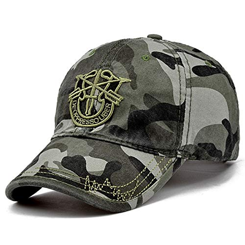 QWER BaseballmützeMänner Hut Top-Qualität Army Green Caps Jagd Angeln Hut Outdoor Camo Baseball Caps Einstellbare Golfhüte -