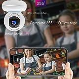 WLAN Kamera Überwachungskamera 1080P IP Camera WiFi Mibao mit Nachtsicht 2 Wege Audio Smart Schwenkbar Home Camera Haustier Baby Camera IP Kamera App Kontrolle Unterstützt Fernalarm… - 6