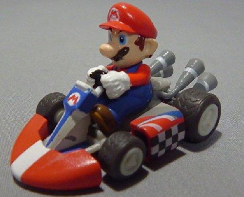 Preisvergleich Produktbild Nintendo wii Super mario kart Display Mini Figure~2.5cm x 5 cm~Mario
