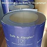 Transparente PVC Folie Tischdecke 1...