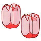 faltbare Wäschesammler Wäschekorb Wäschebehälter -2 Stk.