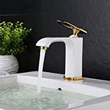 Bonade® bianco miscelatore monocomando rubinetto acqua freddo