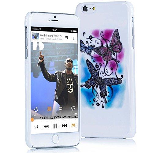 BUTTERFLY HSRpro UltraSlim Cover per iPhone 6 (10,16 cm) Cover Custodia da Amburgo