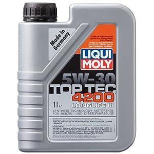 Liqui Moly 3707 Top Tec 4200, Huile moteur 5 W-30 pas cher