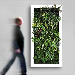 SpringEver Mur végétal artificiel au toucher réaliste -Fait à la demande