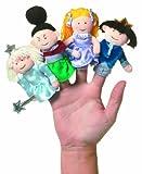 Manhattan Toy - Cinderella Finger Puppets, 10cm