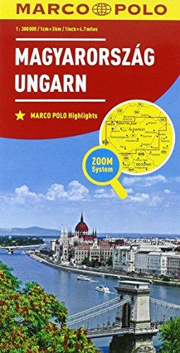 Ungheria 1:300.000 (Carte stradali Marco Polo)