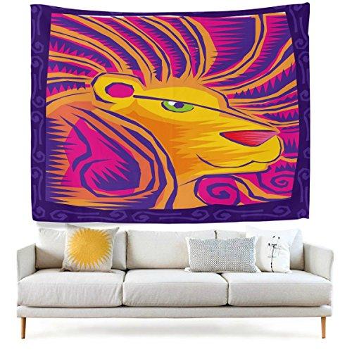 jstel-arazzo-da-parete-viola-ethnic-art-12-costellazione-oroscopo-leone-da-parete-copriletto-dorm-de