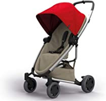 Quinny Zapp Flex Plus Urban Pushchair, Flexible and Compact, Two-Way Reclining Seat, 6 Months to 3.5 Years, Red on Sand