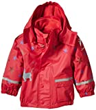 Sterntaler Baby - Mädchen Regenjacke 5651512, Gr. 92, Rot (rubin 804)
