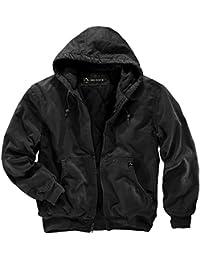 Dri Duck hombre 5020cheyennes con capucha chaqueta de trabajo, hombre, negro, XL/Tall